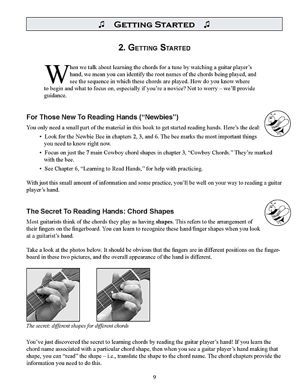 Topher Gayle Store Sample Page From Book Hand Over The Chords